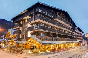 Relais Motards CHALET-HOTEL LA MARMOTTE