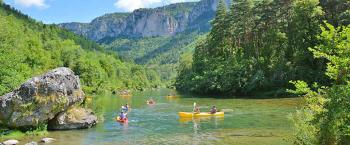 CAMPING CANOE GORGES DU TARN