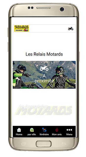 Application gratuite Relais Motards