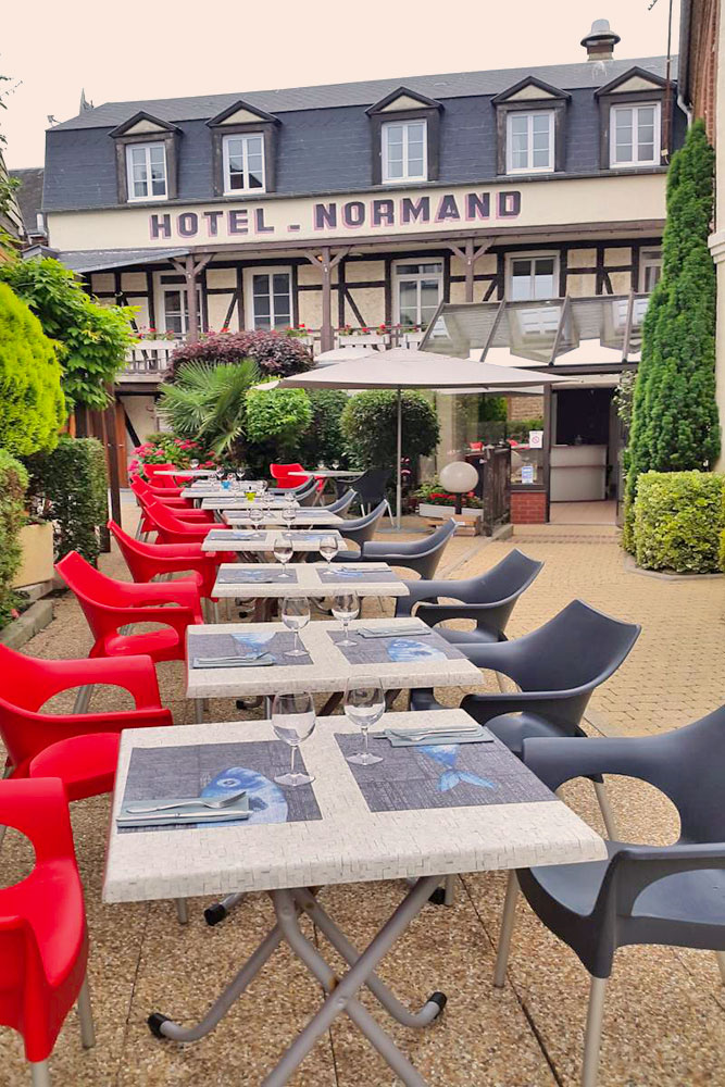 Yport hotel normand h tel restaurant for Hotels yport